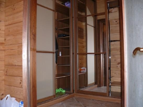 Шкафы купе и мебель на заказ