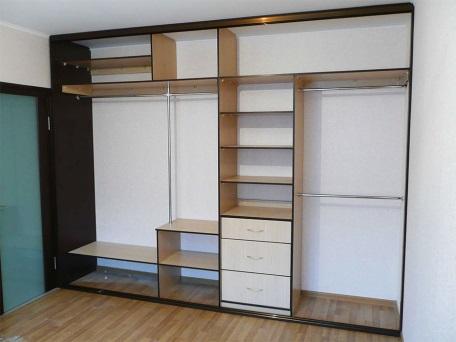Встроенный шкаф купе на заказ
